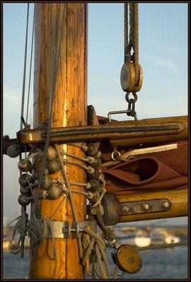 ein Blick fürs Detail beim Segelschiff -2