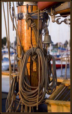 ein Blick fürs Detail beim Segelschiff - 3