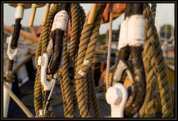 ein Blick fürs Detail beim Segelschiff - 4