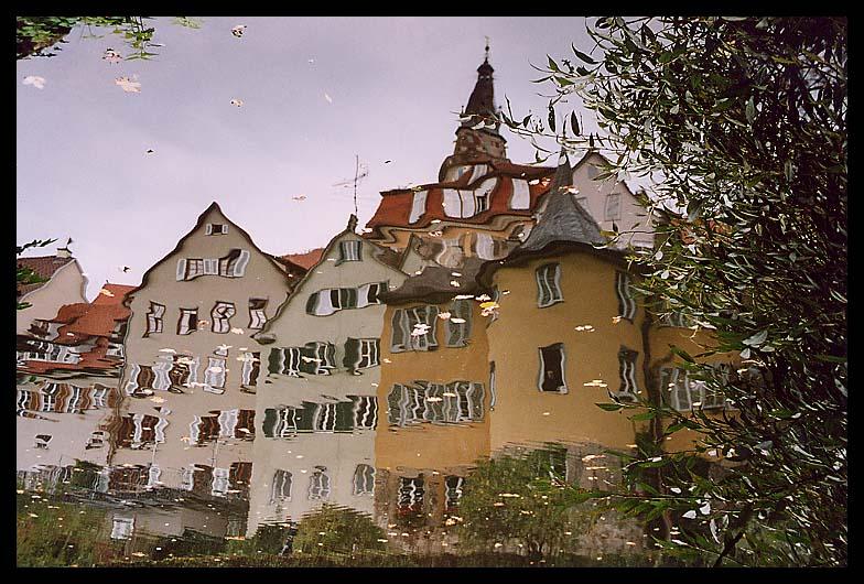 ein Blick in den Neckar