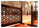 ein Blick in die Moschee