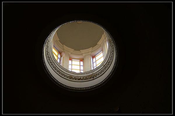 ein Blick nach oben