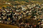 ein Blick übers  Land    Uhlbach