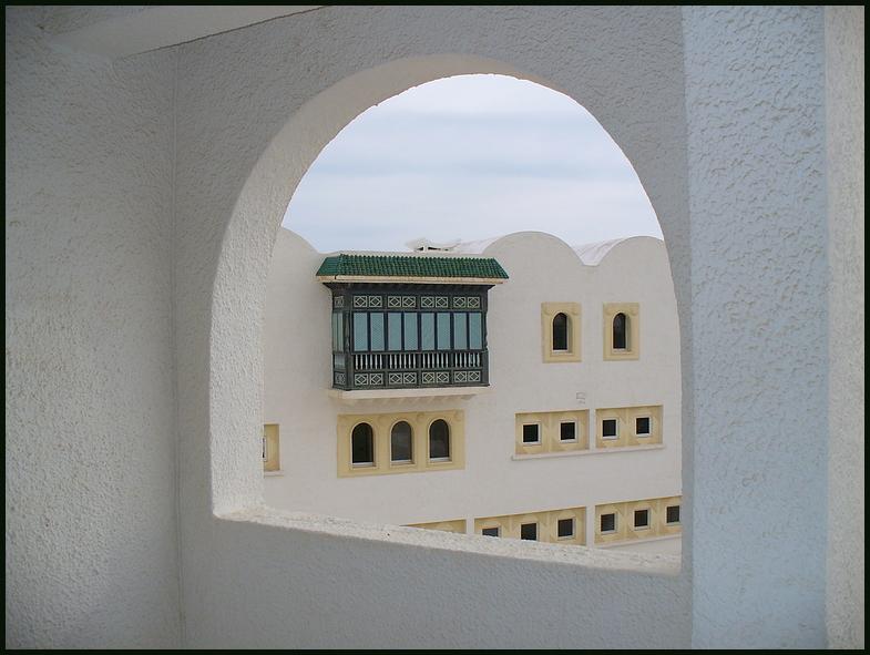 Ein Blick von meinem Balkon