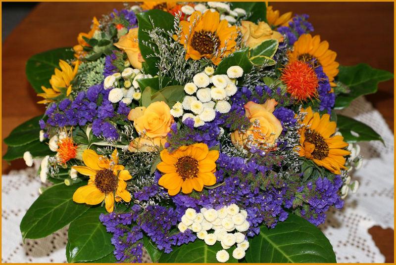 Ein Blumengruss für Axel Kleingünther