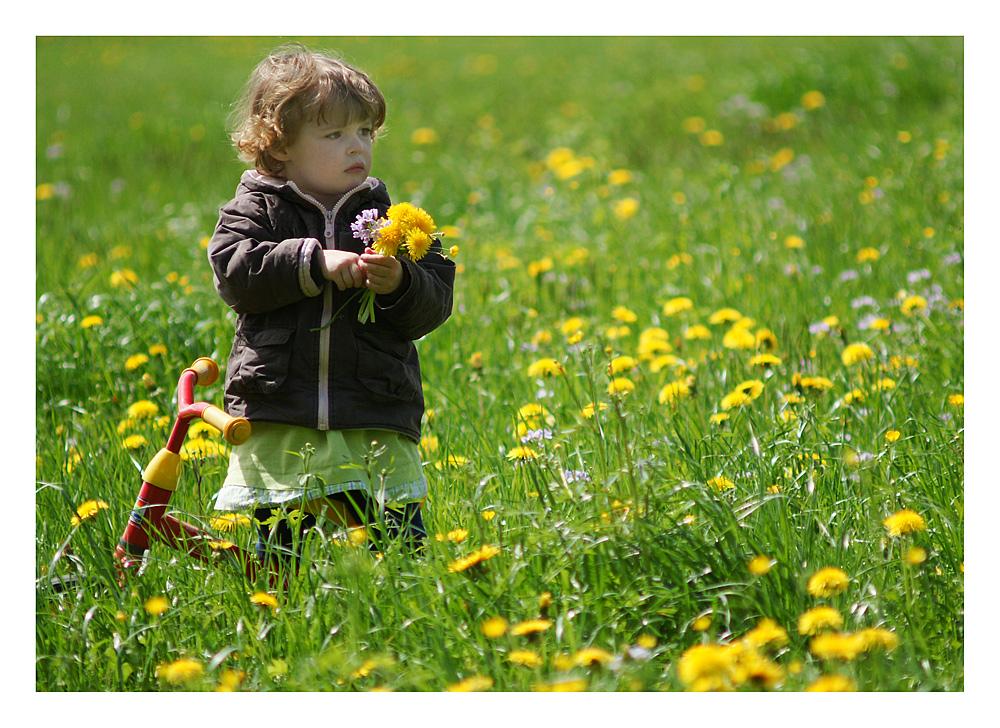 Ein Blumenstrauss für Mutti