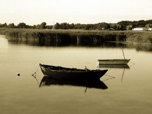 Ein Boot am Meer......