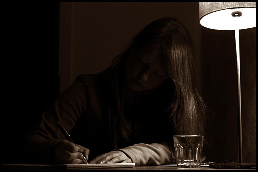 Ein Brief in der Abendstunde