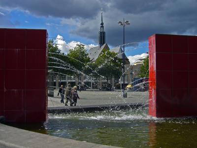 ein Brunnen in Dortmund