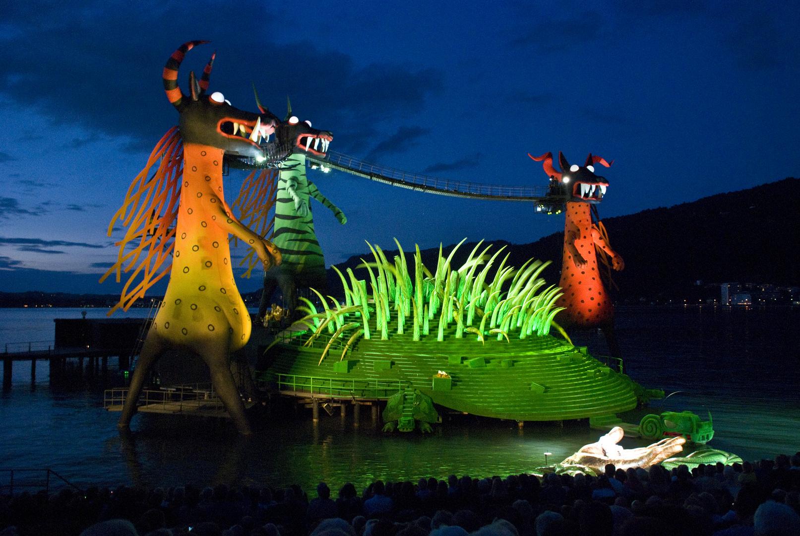 Ein Bühnenbild der Bregenzer Festspiele
