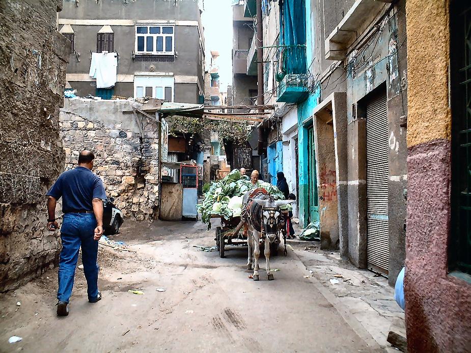 Ein Bummel durch die Gassen vom islamisches Wohnviertel in Kairo