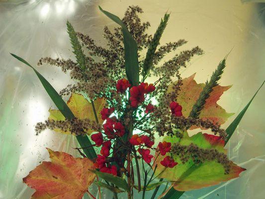 Ein bunter Herbststrauß für euch alle