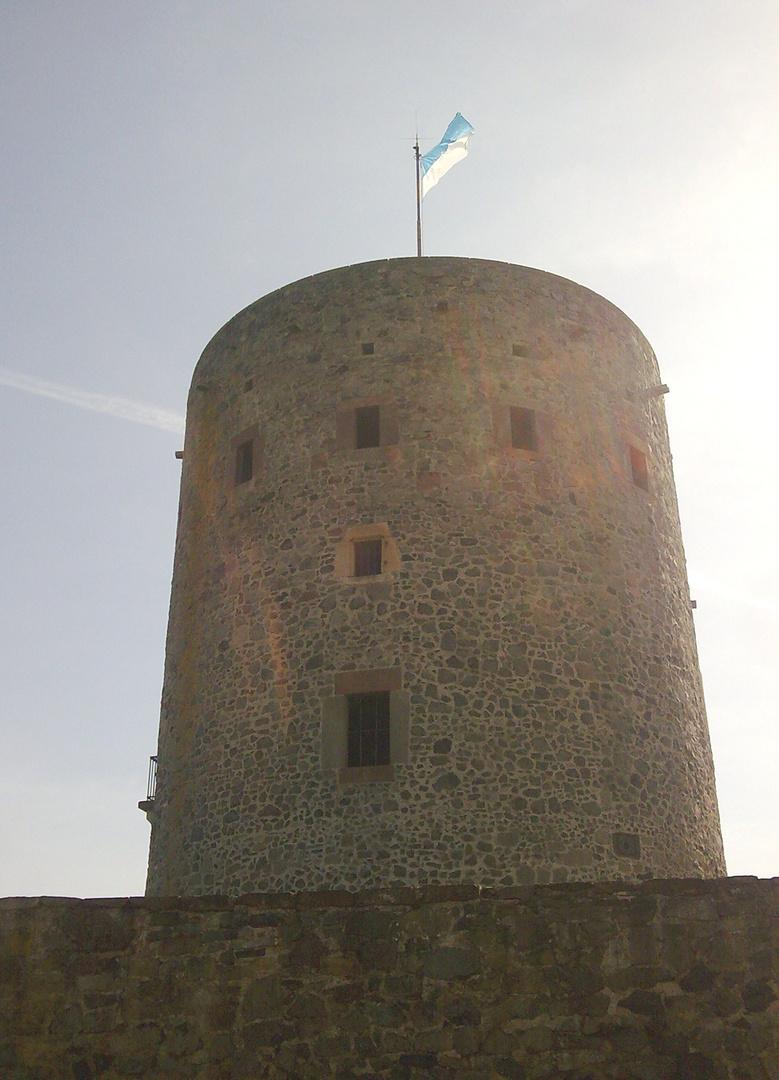 ein Burgturm........