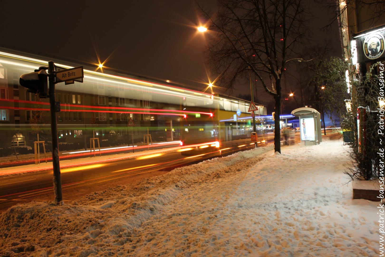 Ein Bus der BVG -> Buslinie M44