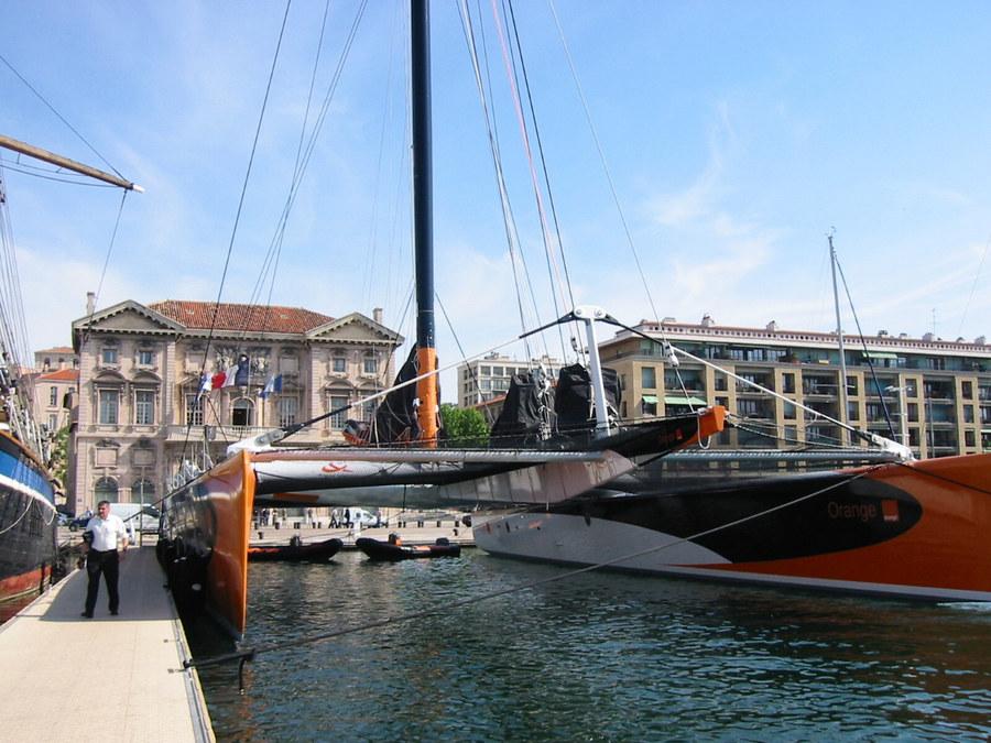 Ein Champion im Alten Hafen 2