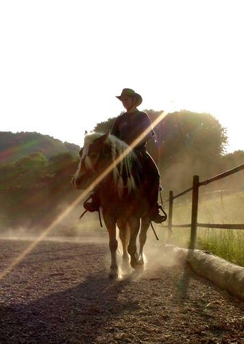 Ein Cowgirl...