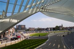 Ein Dach über der Stadt