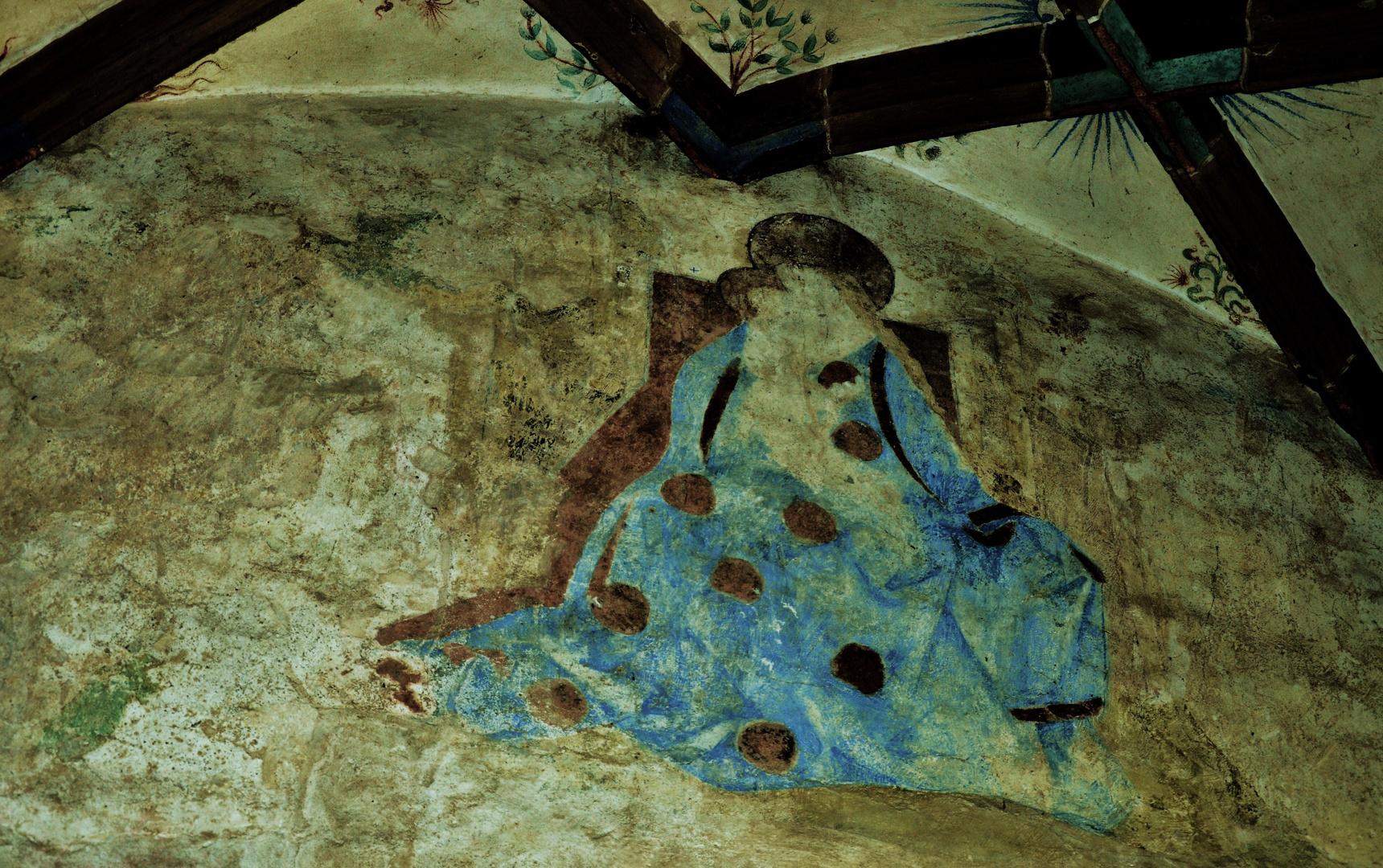 ein Deckengemälde im Kloster Maulbronn 8