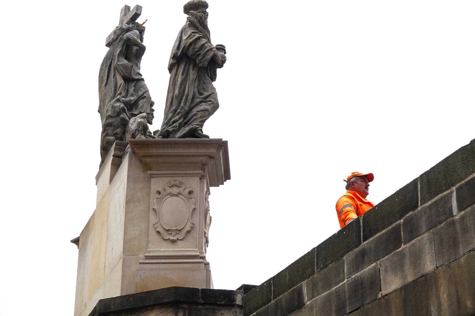 Ein Denkmal der Stadtreinigung!