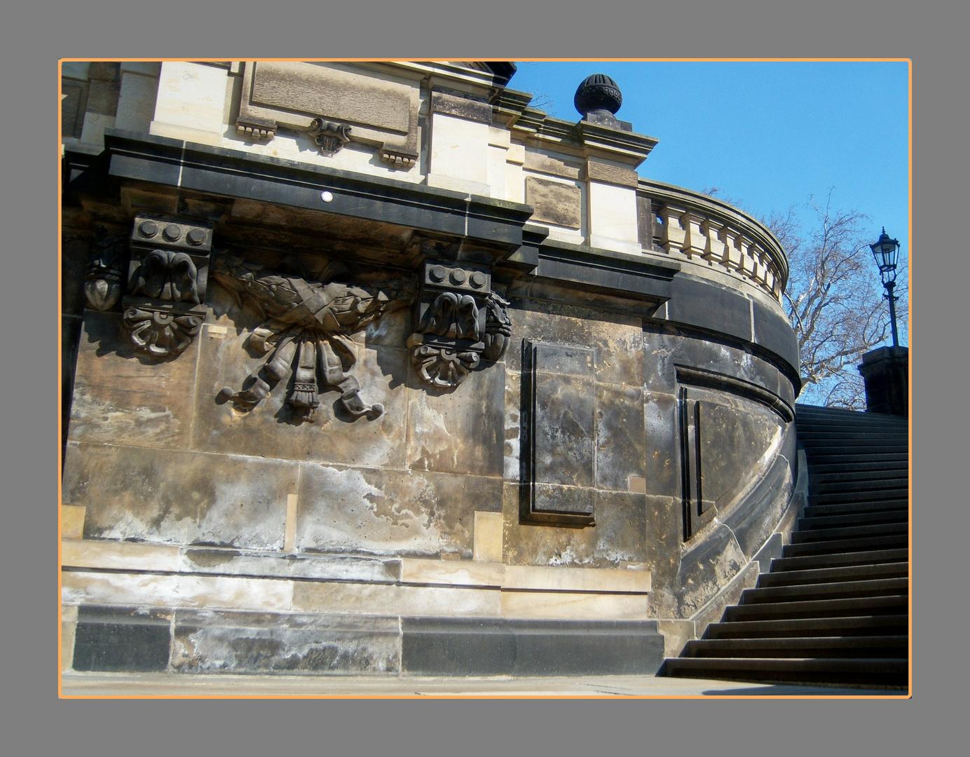 Ein Detail aus Dresden