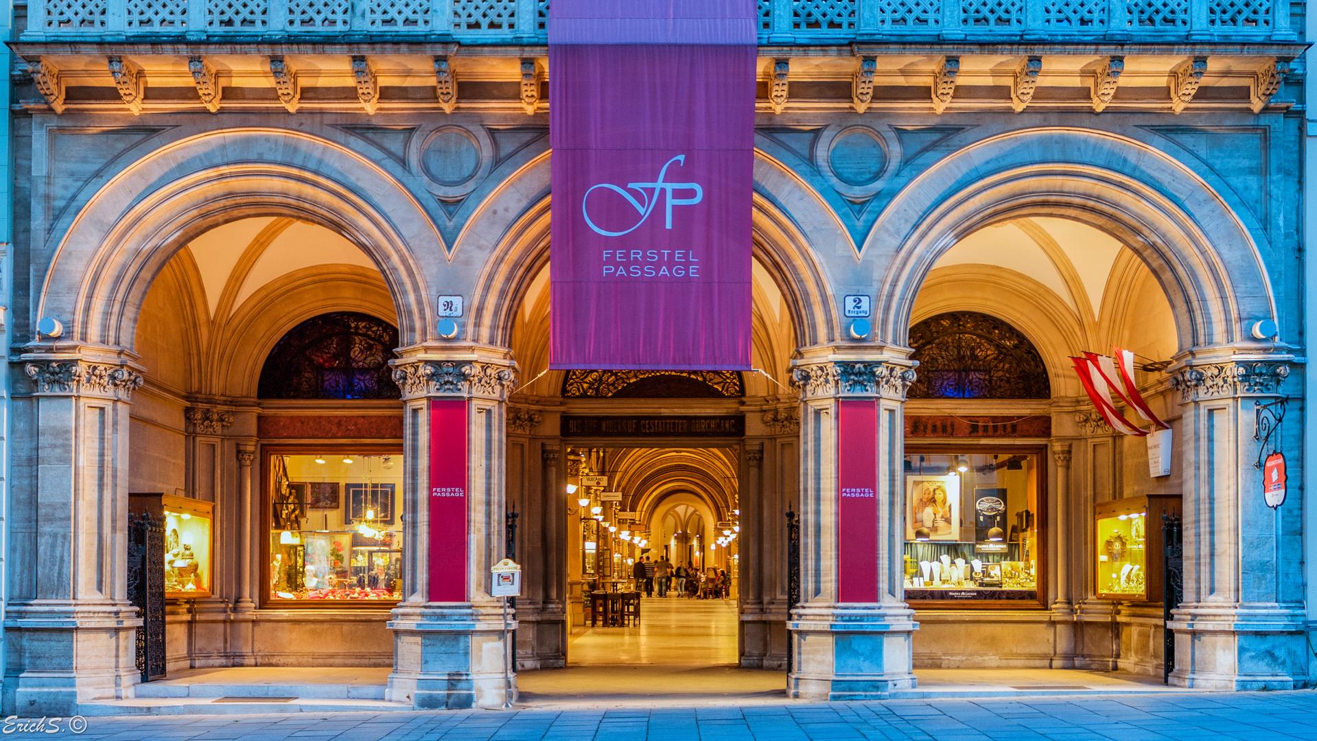 Ein Detail von Wien - Palais Ferstel