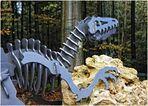 Ein Dino im Wald ...