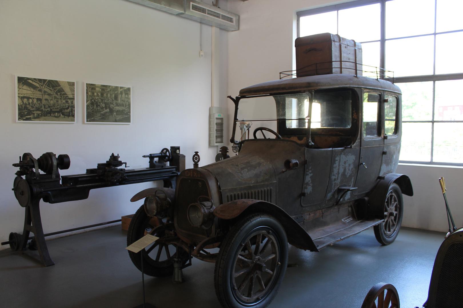 ein DIXI Baujahr 1912  im Automuseum in Eisenach