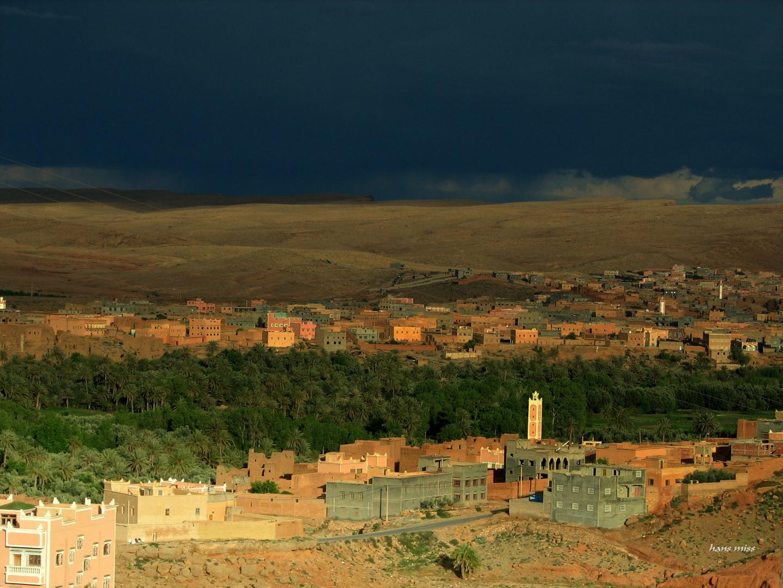 ein Dorf im Atlas Gebirge (Marokko)