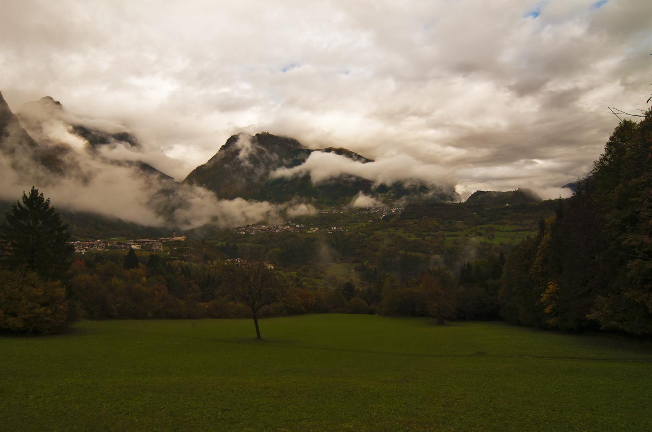 *** ein Dorf in den Bergen ***
