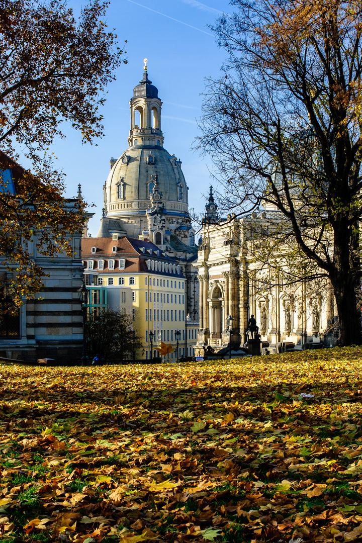 Ein Dresdner Herbsttag