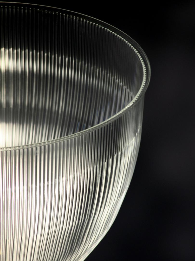 Ein Drittel Glas voll Licht