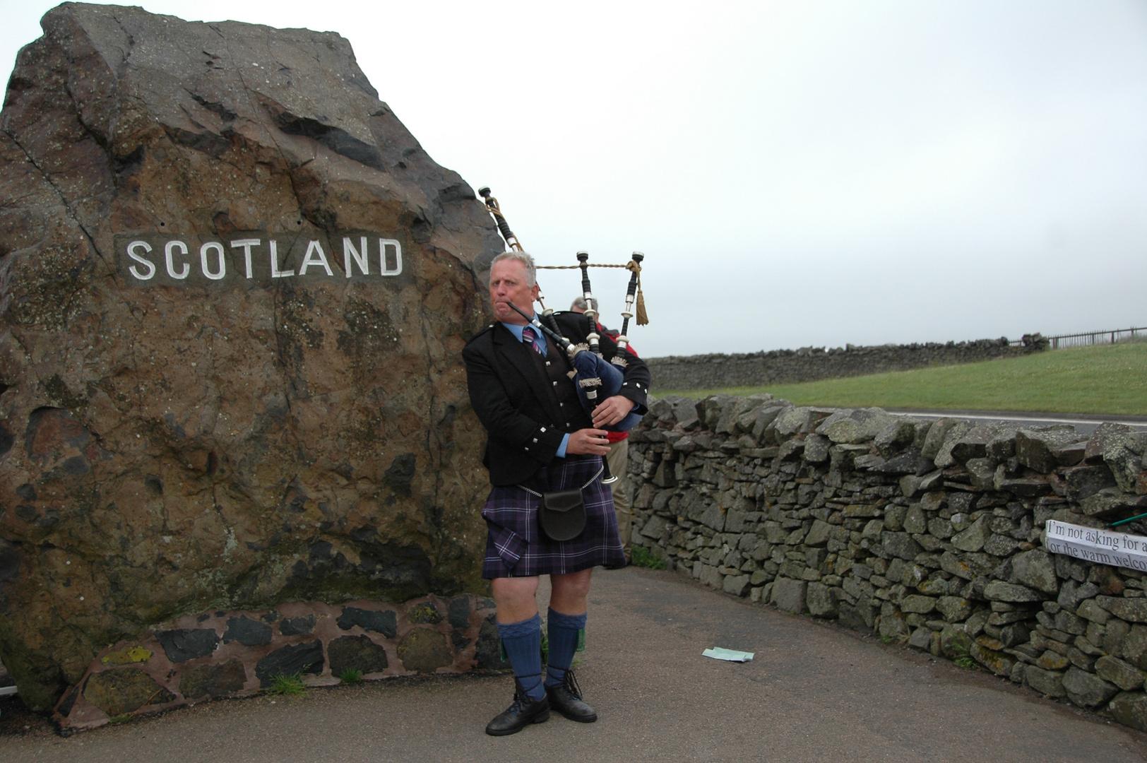 Ein echter Schotte