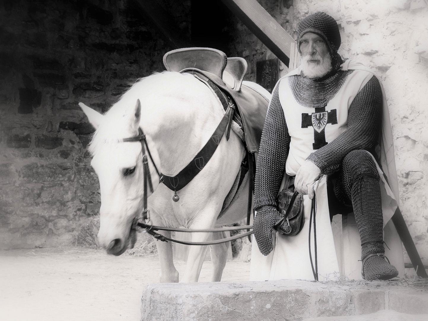 Ein edler Ritter in Bad Wimpfen