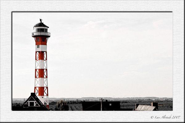 Ein einsamer Leuchtturm...
