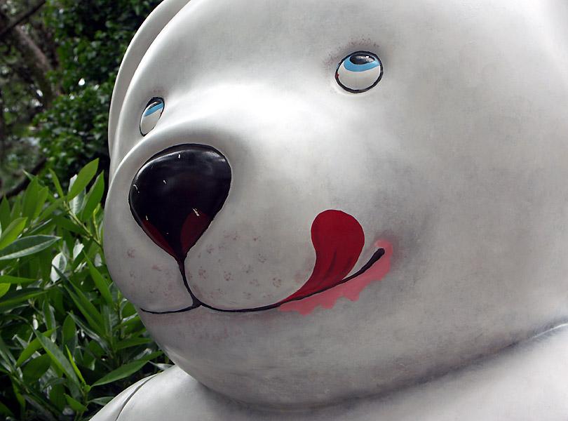 Ein Eisbär .........
