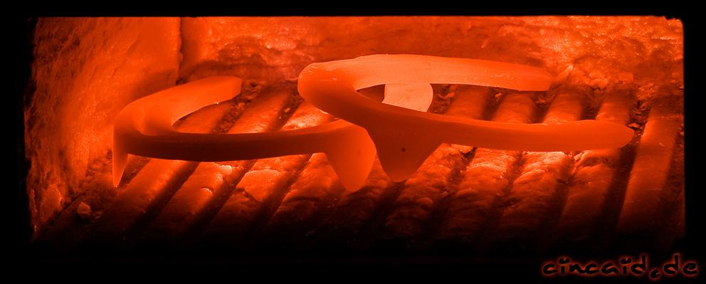 Ein Eisen im Feuer - oder: Der Schmied ist da