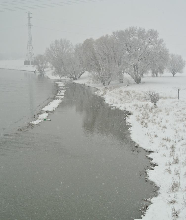 Ein Elbe- Wintermärchen