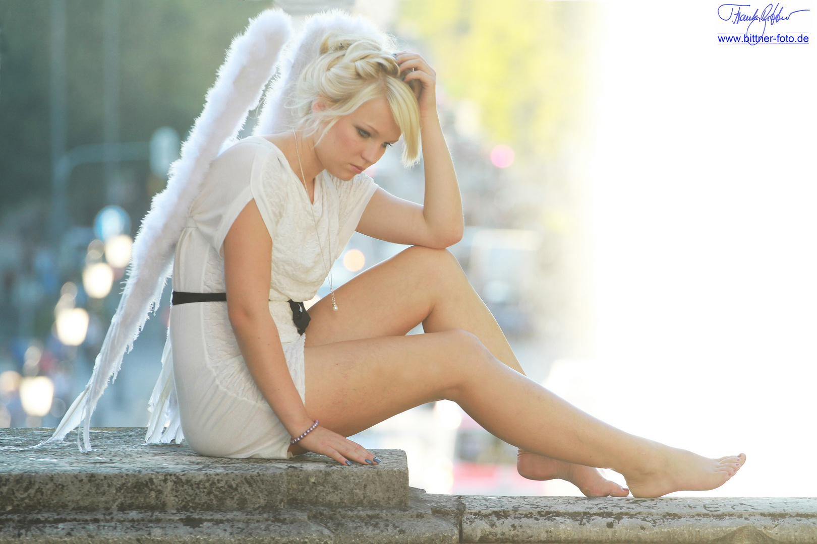 Ein Engel am Friedensengel