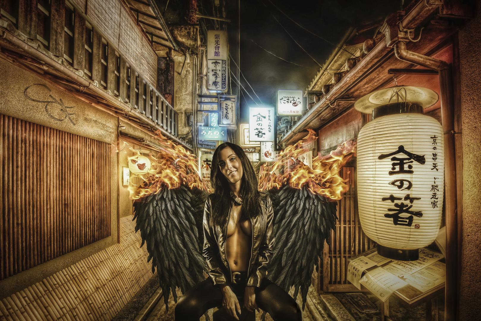 Ein Engel in Chinatown