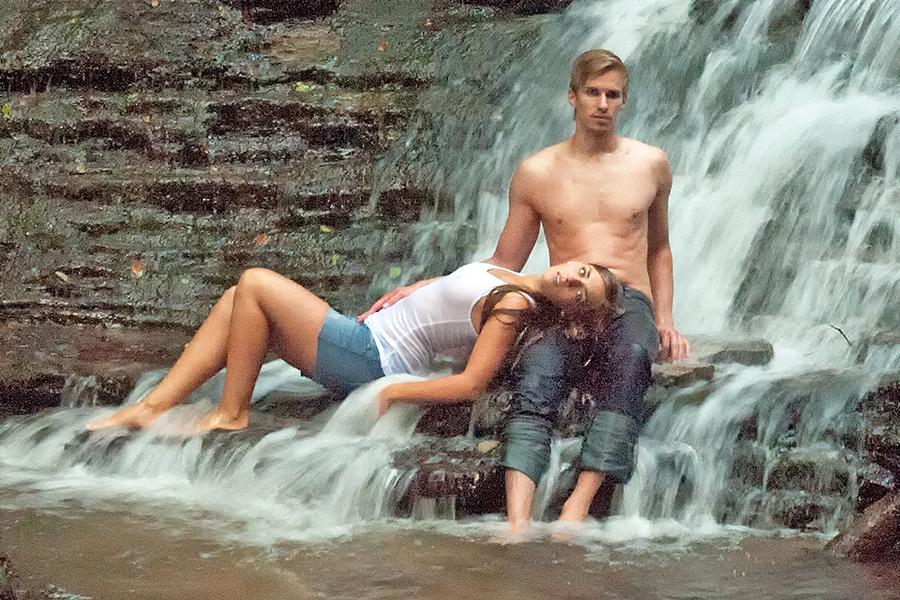 ein Erfrischungsbad ....