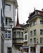 ein Erker in Solothurns Altstadt