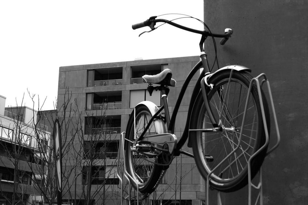 Ein etwas anderer Fahrradparkplatz