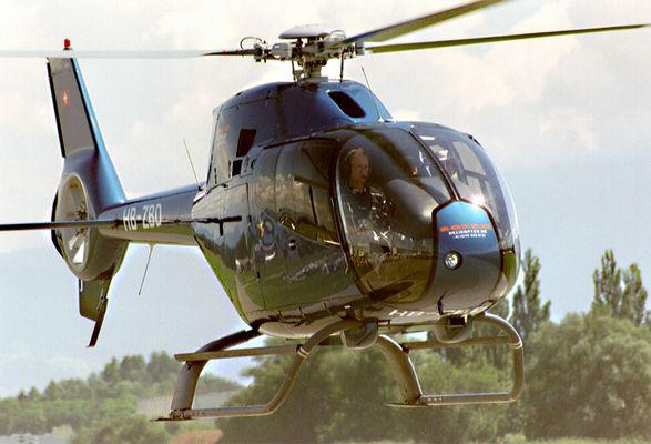 Ein Eurocopter ...