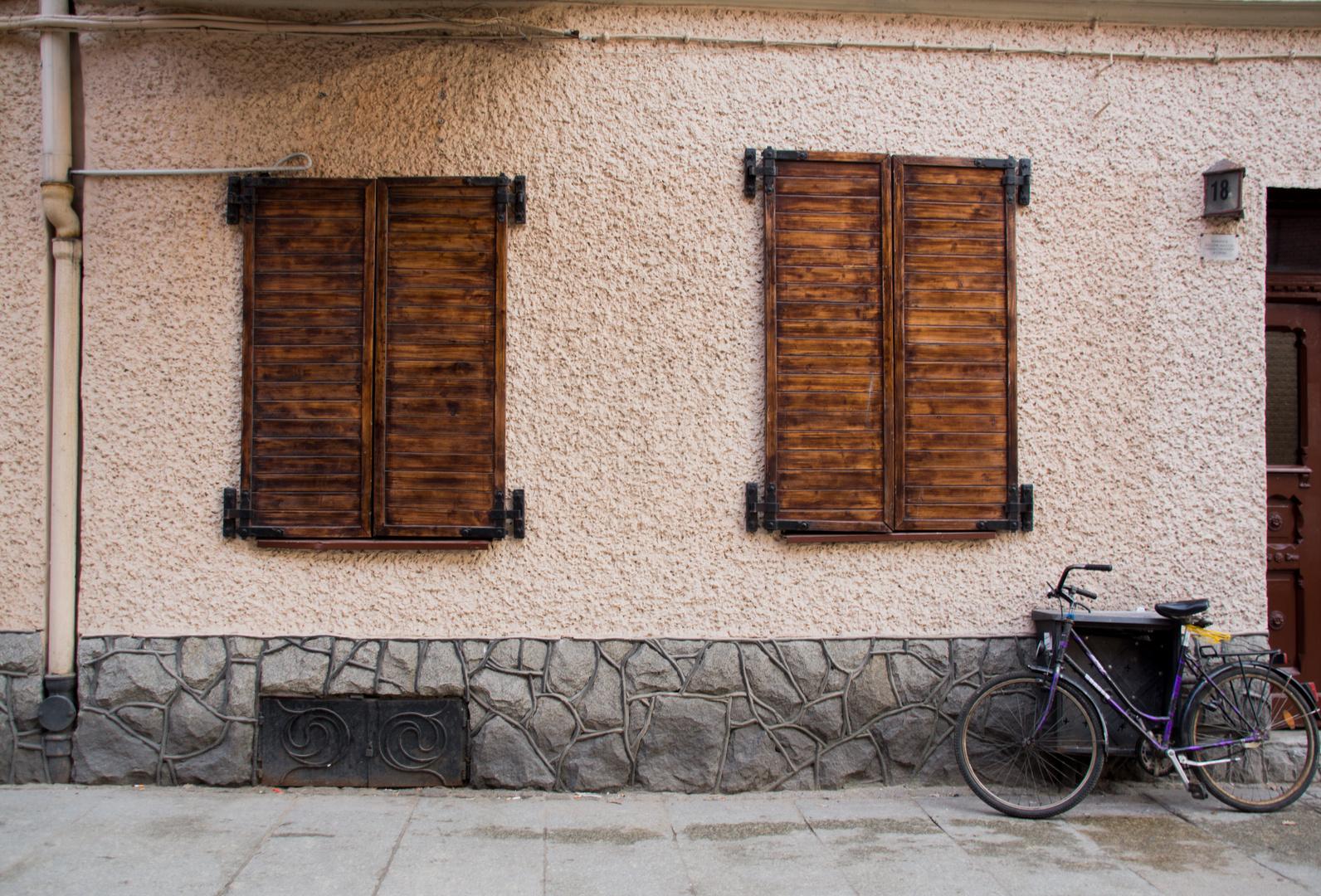 Ein Fahrrad irgendwo da draußen ...