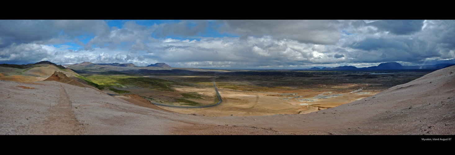 Ein Farbenspiel der Landschaften : Island