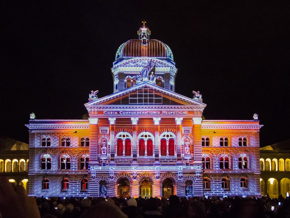 Ein farbiges Bundeshaus