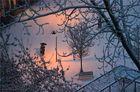 Ein Februarmorgen, um Sieben in Marzahn
