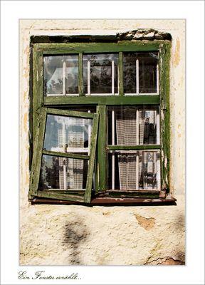 Ein Fenster erzählt...