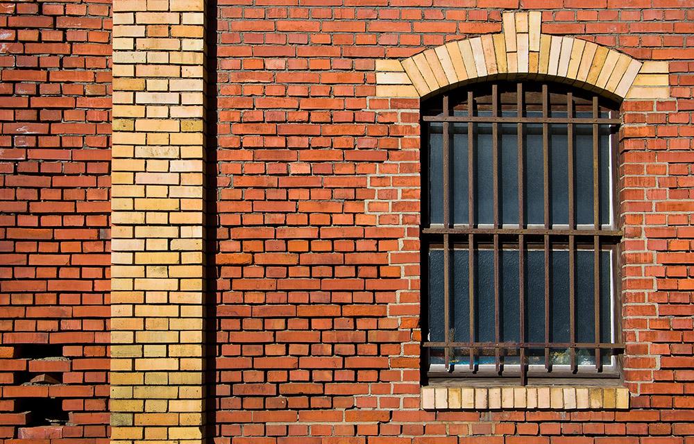 Ein Fenster in der Mauer