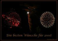 Ein Feuerwerk...
